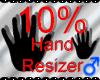 *M* Hand Scaler 10%