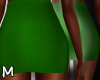 ✏ Green Pencil Skirt