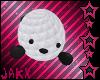 JX White Knit Seal