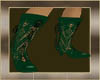 VICTORIAN GREEN BOOTS