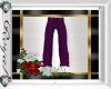 Purple Men Dress Pants