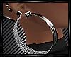 Hoops Silver Earrings