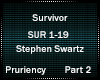Stephen S - Survivor 2