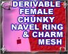 Fem Chnky Nvl Rng Mesh