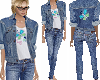 Butterfly Jean outfit