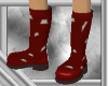 Red Blade Galoshes