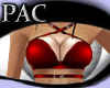 *PAC* Strapped Top Red