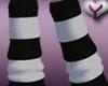 [Y] Striped socks (BW)