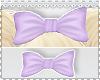 M✿R - Bow  violet <3