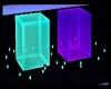 💀 Neon Cube seats