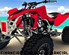 Red ATV Quad