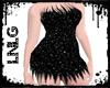 L:BBW Dress-Fairy Black