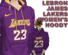 LeBron Lakers W Hoody P