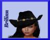 [B] Black Cowgirl Hat