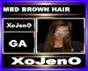 MED BROWN HAIR