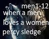 when a men loves a women