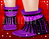 !D! Winter Boots Purple