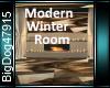 [BD]ModernWinterRoom
