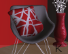 """ Red Loft Chair"