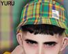 YURU check bucket hat