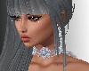 SL Ice Blue Queen Choker