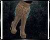(kd) Stiletto Boots Fur