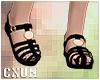 Black Sandals | F