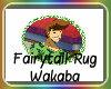 Fairytail Rug Wakaba