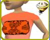 Neon Floral (Orange)