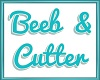 BEEB CUTTER floor sign