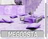 Lilac Villa Table Set