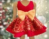 Kid Xmas Dress Red
