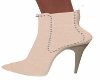 Casual Cream Ankle Boots