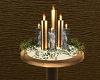 Golden Christmas Candles
