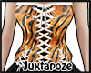 Tiger Striped Corset