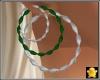 C2u Emerald Tri Hoops