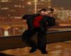 (MC)Red Casual Full Suit
