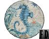 Seahorse Nautical Round