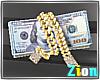 Baller Money Gold Clip