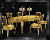 Dinner Table Gold