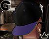 GL| Blk Purple Snapback