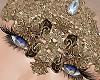 Goddess Gold Mask