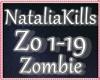 ♥ Natalia Kills Zombie