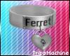 White Ferret Collar M