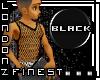 [LF] Black String Vest