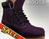 Purple Gothic Boots