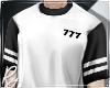 777 Black Tee