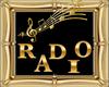 Radio framed