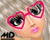 *MD* Love Pink Glasses