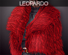 f Red Fur Coat